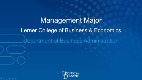 Thumbnail for entry Management — Lerner College of Business and Economics