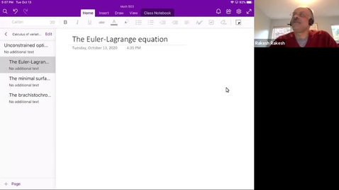 Thumbnail for entry Unconstrained optimization - problem and result