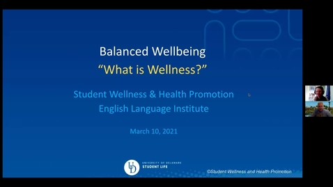 Thumbnail for entry Balanced Wellbeing