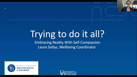 Thumbnail for entry Mental Wellbeing Booster: Cultivating Self-compassion