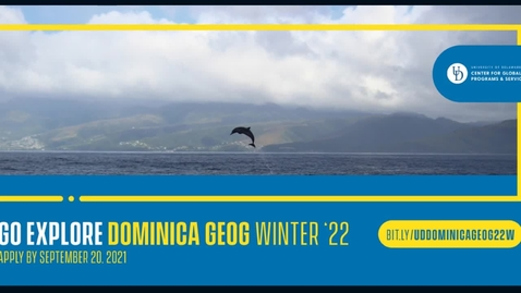 Thumbnail for entry 22W Dominica GEOG