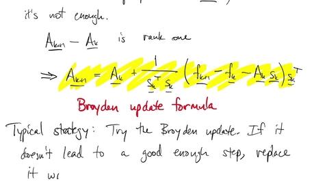 Thumbnail for entry FNC 4.6: Quasi-Newton methods