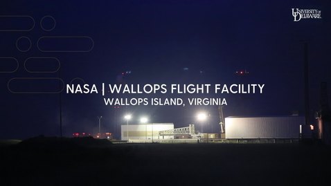 Thumbnail for entry NASA payload delivers out of this world experience for UD grads