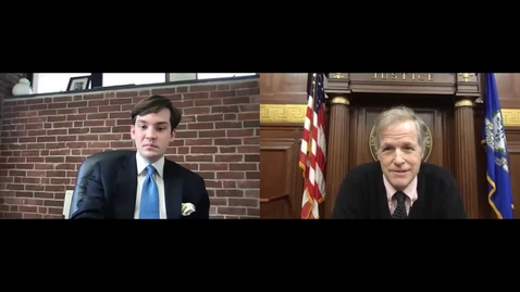 Thumbnail for entry A Conversation With U.S. District Judge Jeffrey Meyer: Federal Courts and Connecticut's Reentry Court