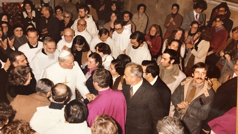Thumbnail for entry The pope at the convent - Spring 1979