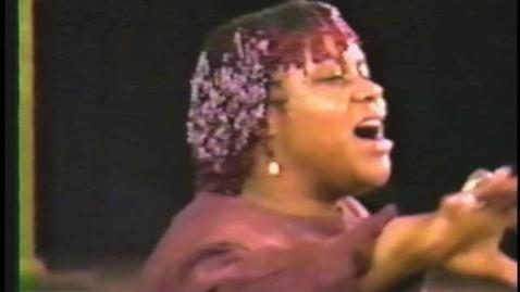 """Thumbnail for entry We Shall Not Be Moved (Pt. F) Oh freedom : the music of the movement"""" featuring Bernice Reagon, and (Pt. G) The S.N.C.C. woman and the stirrings of feminism"""