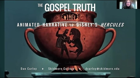 "Thumbnail for entry The Gospel Truth"": Animated Narrative in Disney's Hercules (1997)"