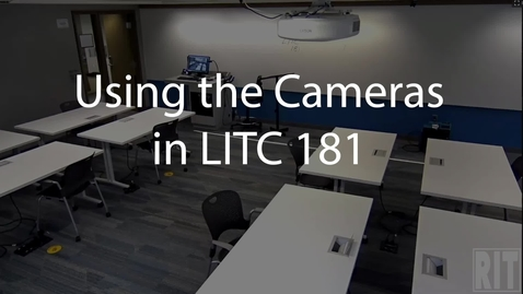 Thumbnail for entry Cameras in LITC 181