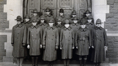 Thumbnail for entry Student's Research on Trinity and 1918 Flu Pandemic is First Exhibit in Watkinson Library's Virtual Museum