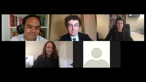 Thumbnail for entry Law School Alumni and Alumnae: A Conversation with Recent Trinity Alums About Their Experience in Law School