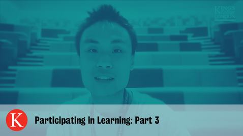 Thumbnail for entry Participating in Learning - Part 3