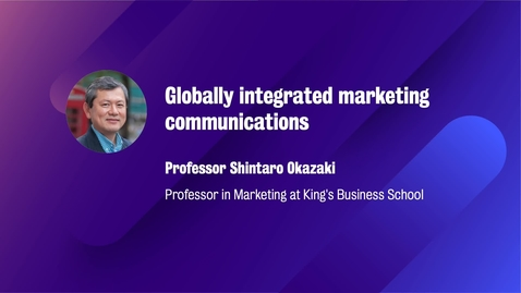 Thumbnail for entry Marketing_M8_W5_Globally integrated marketing communications(CAMPUS)