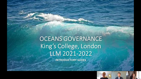 Thumbnail for entry Oceans Governance [7FFLA533] Module introduction