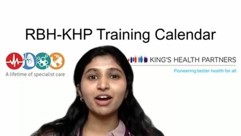 Thumbnail for entry RBH-KHP Training Calendar video