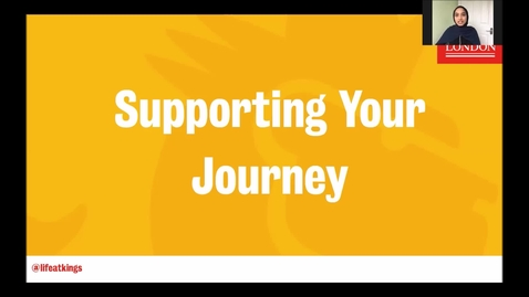 Thumbnail for entry Life at King's - Supporting your Journey (Part 4)