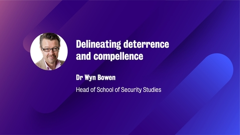 Thumbnail for entry Delineating deterrence and compellence
