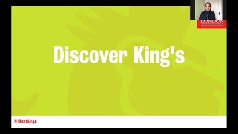 Thumbnail for entry Life at King's - Discover King's (Part 3)