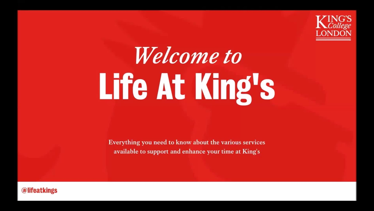 Life at King's - Introduction (Part 1)