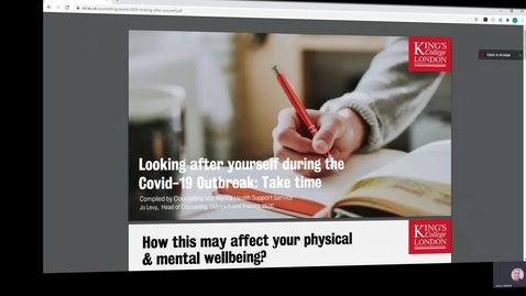 Thumbnail for entry Mental Health Module