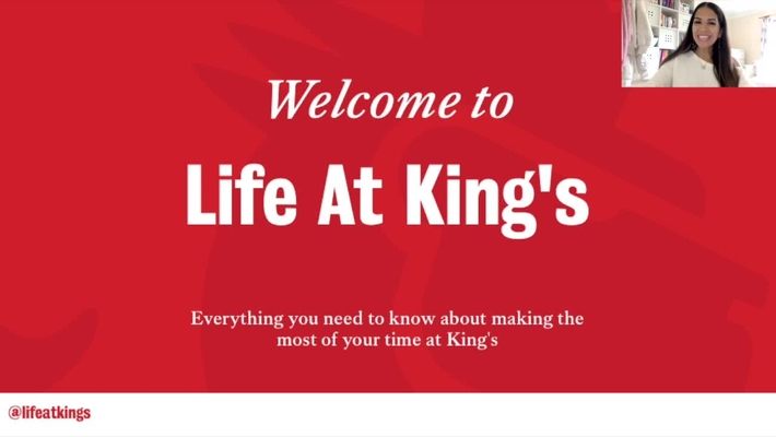 Getting Started (Video 1) - Life at King's
