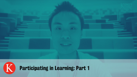 Thumbnail for entry Participating in Learning - Part 1