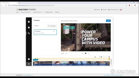 Thumbnail for entry How to Create and Manage Hotspots