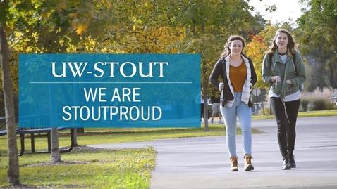 Thumbnail for entry UW-Stout: We are STOUTPROUD