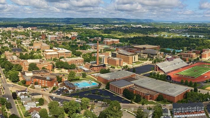UWL Campus Aerial Tour