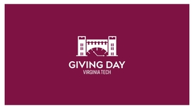 Thumbnail for entry Giving Day - Why Do You Love Virginia Tech?