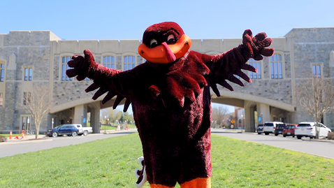 Thumbnail for entry A message from the HokieBird