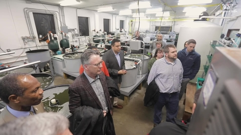 Thumbnail for entry Statewide tour offers insight into Virginia Tech extension research locations