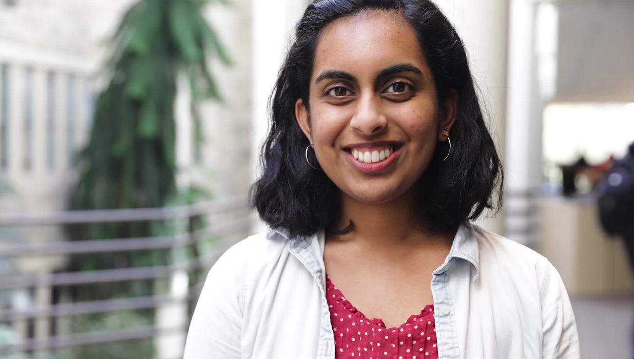 Meet a Hokie: Teja Sathi
