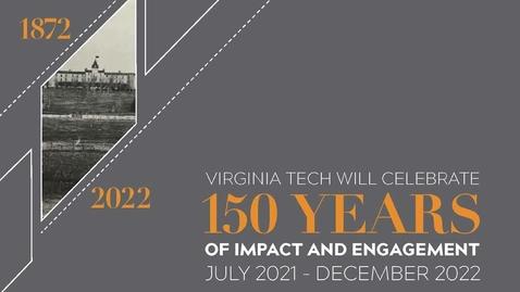 Thumbnail for entry Presentation: Virginia Tech prepares for its Sesquicentennial celebration