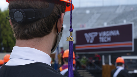 Thumbnail for entry 2021 Spring Commencement returns to Lane Stadium for in-person ceremonies