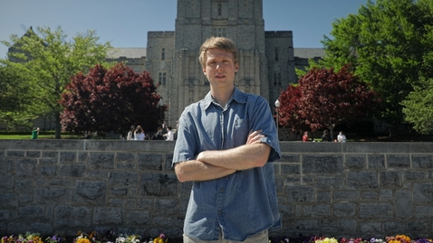 Thumbnail for entry Hokie Engineering Graduate Ian Davis reflects on his time at Virginia Tech