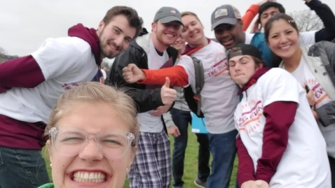 Thumbnail for entry Virginia Tech student organization pays tribute to Class of 2020 through video