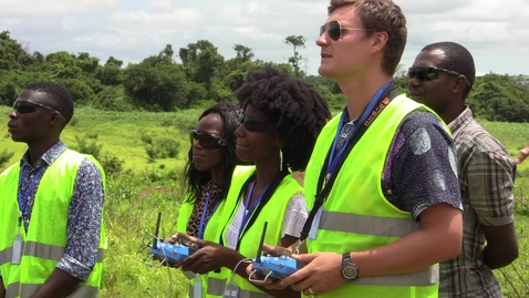 Thumbnail for entry Virginia Tech and UNICEF partner to open Africa's first drone and data academy