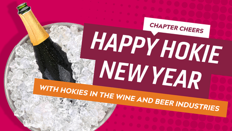 Thumbnail for entry Chapter Cheers: Happy Hokie New Year!
