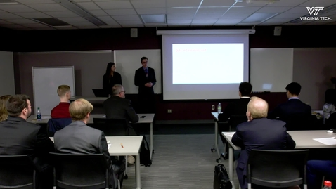 Thumbnail for entry Computational Modeling and Data Analytics Capstone students tackle industry projects