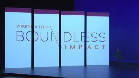 Thumbnail for entry Boundless Impact: Virginia Tech celebrates campaign launch
