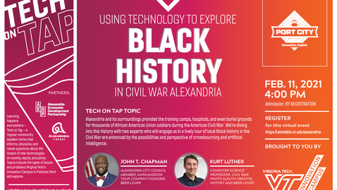 Thumbnail for entry Tech on Tap: Using Technology to Explore Black History in Civil War Alexandria