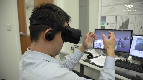 Engineering students show 'magical powers' in virtual reality