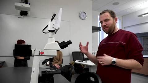 Thumbnail for entry Integrated science lab coordinator gives insight into program