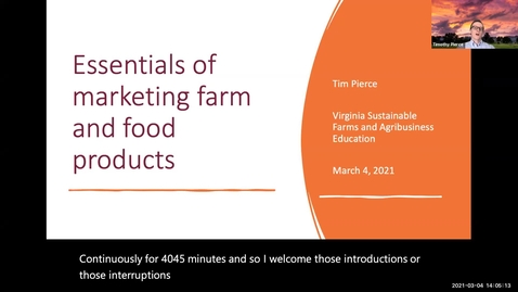 Thumbnail for entry Essentials of marketing farm and food products