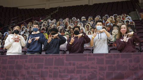 Thumbnail for entry Engineering Group Brings Life to Cassell Coliseum Cutouts