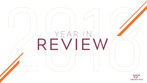 Thumbnail for entry 2018: A Year in Review