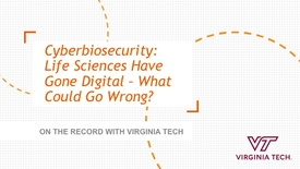 Thumbnail for entry On the Record with Virginia Tech: Randy Murch