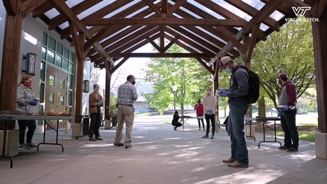 Thumbnail for entry Mammalogy Class Utilizes Outdoor Spaces To Study Carnivores