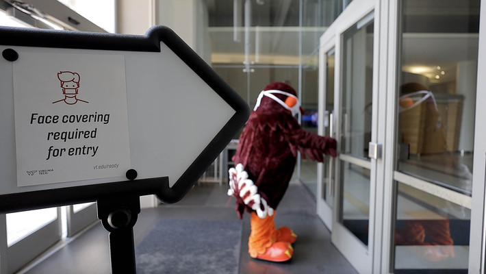 Being committed, being well, with the HokieBird