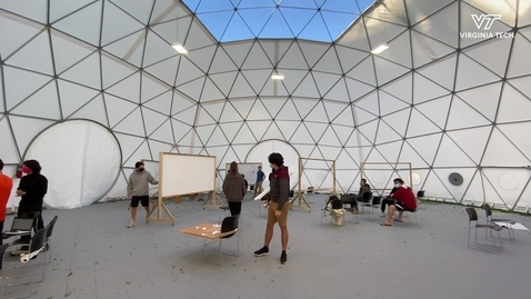Thumbnail for entry Dome offers alternative learning space during COVID-19